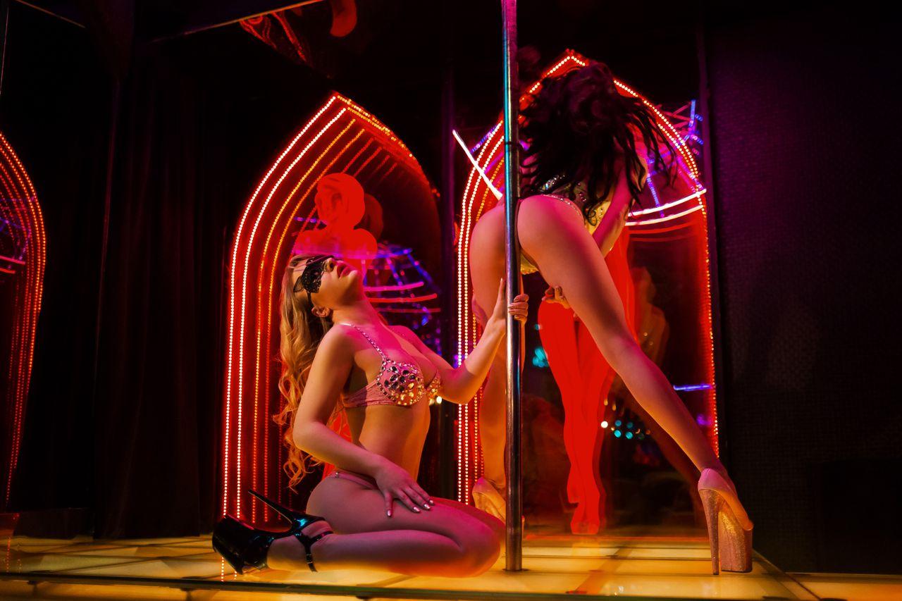 Amazing striptease dance